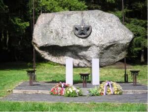 Památník partyzánského odboje v Cikháji