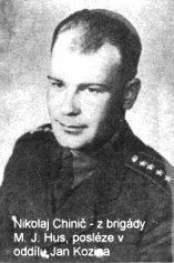 Kapitán Rudé armády Nikolaj Chimič