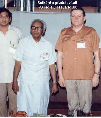 setkání s představiteli KS Indie v Travanduru