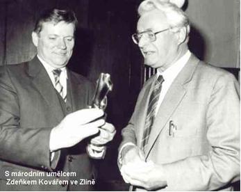 S národním umělcem Zdeňkem kovářem ve Zlíně