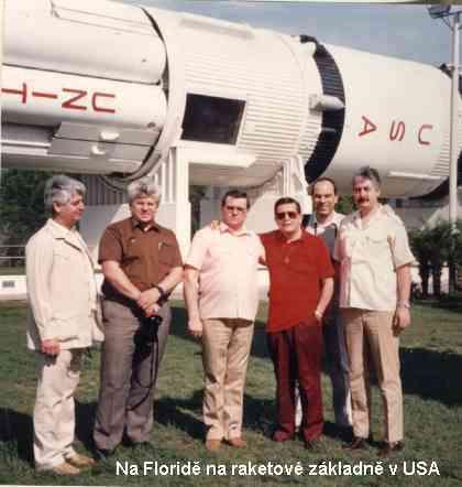 Na raketové základně USA na Floridě