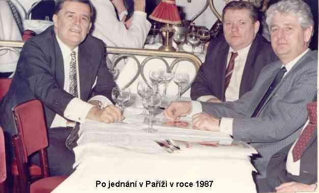 po jednání v Paříži v roce 1987