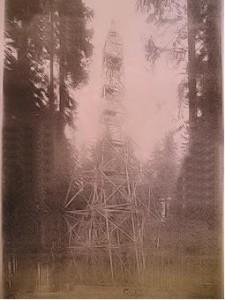 Takové rozhledny o výšce 42 metrů byly do roku 1952 na Žákově hoře a Tisovce. Škoda, že se již nikdy neobnovily.