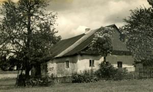 dům rodiny Vaisových před vypálením nacisty